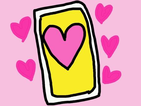 Love love luck up card