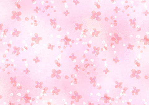 Background material 028 Small flower background