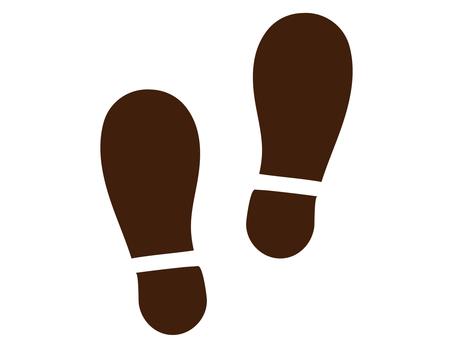 Shoe footprint