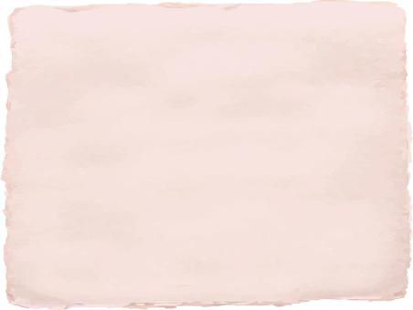 和紙和風紙テクスチャー背景画ピンク色桃色