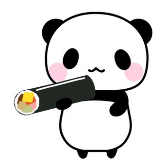 Ebata winding panda
