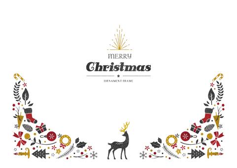 冬季背景架067聖誕用品
