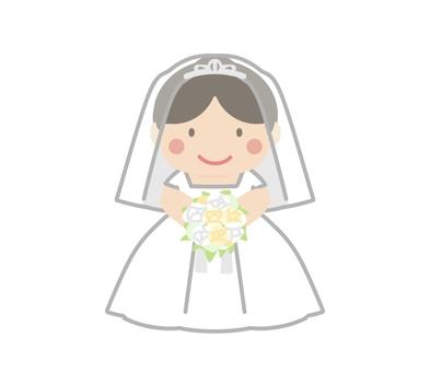 Wedding dress appearance 1