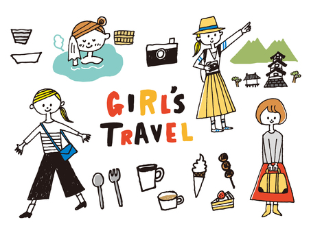 GIRLS TRAVEL