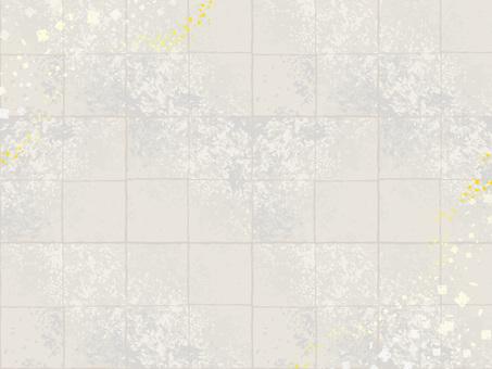 Japanese style golden silver foil pattern background