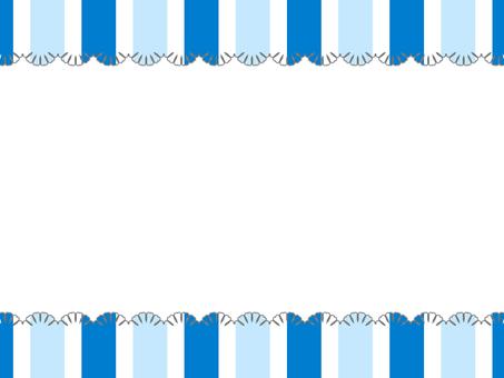 Stripe frame