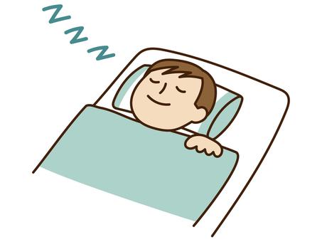 People who sleep soundly