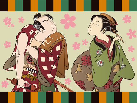 Japanese style illustration VOL.2