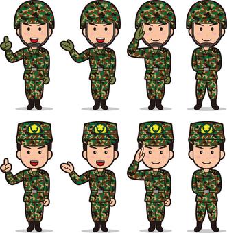 Self-Defense Forces 3 (Men's Ground Self-Defense Force)