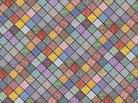 Colorful tile wallpaper
