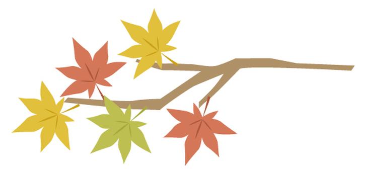 Autumn illustration material 5