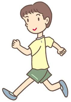 Running. 1