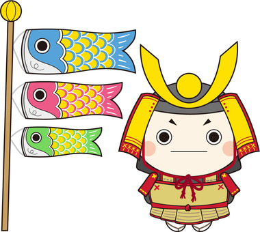Children's Day-May Doll-Koinobori