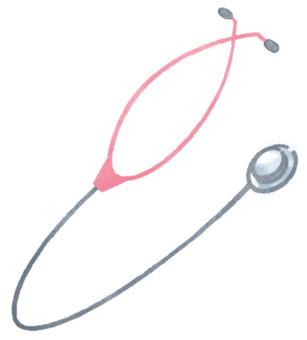 一個聽診器