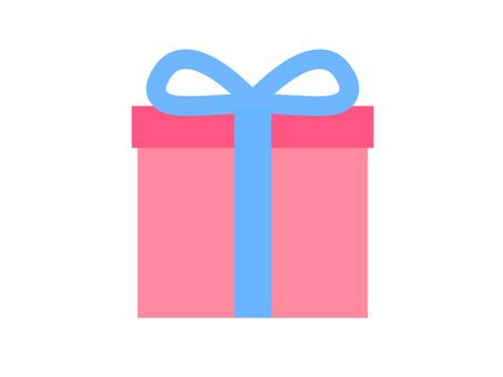 Present box pink