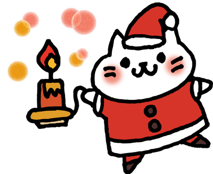 Candle cat