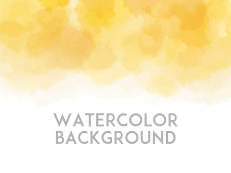 Watercolor background yellow
