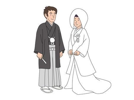 結婚式(和式)