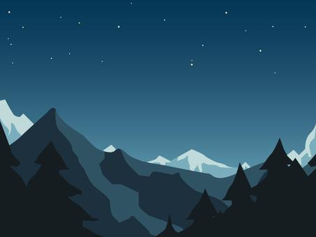 Mountain night