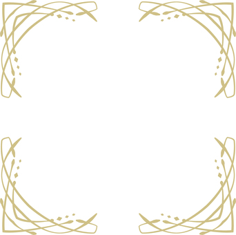 Thumb frame (gold frame 4)