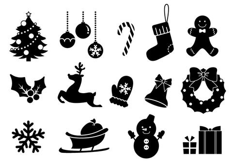 聖誕節圖標