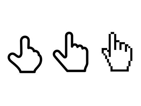 3 cursors