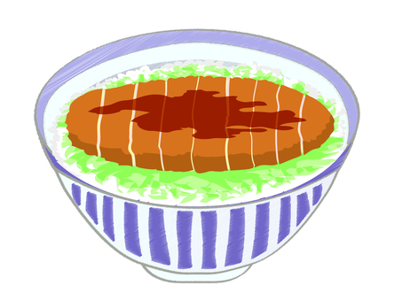 Bowl of saucerkatsu