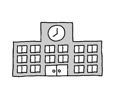 School (simple monochrome)