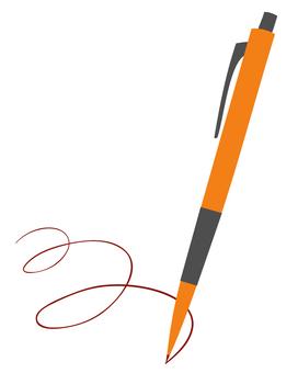 Pen (Orange)