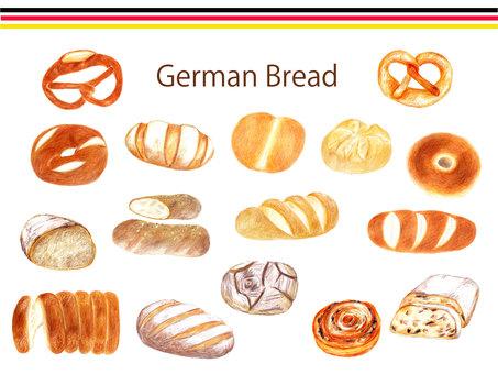 German bread summary