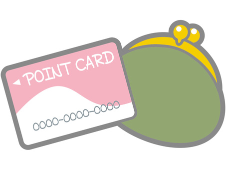 Gamaguchi and point card