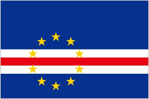カーボベルデ 国旗