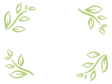 [Handwriting] Plant frame