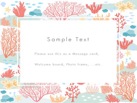 Coral Sea Postcard 03