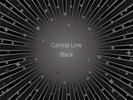 Black concentrated line