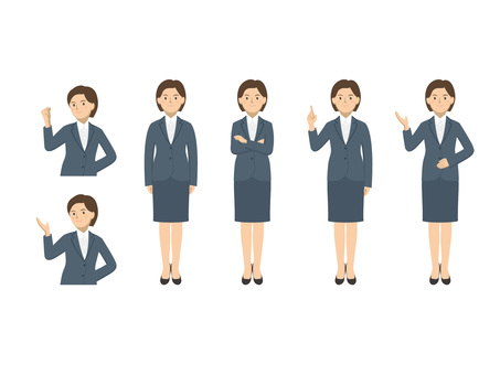 Business woman - set 1