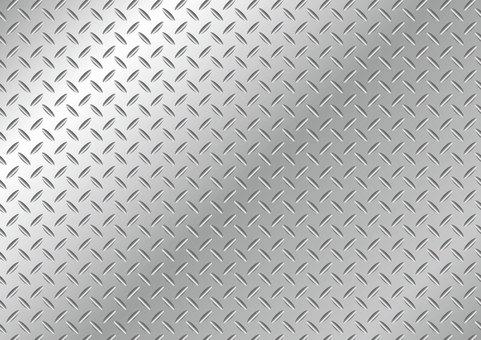 Striped steel wallpaper