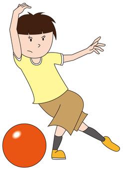 Bowling girl 3
