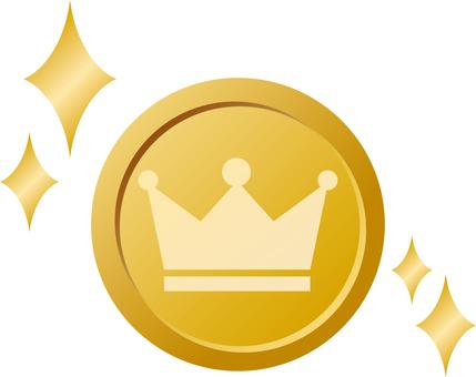 Crown gold medal