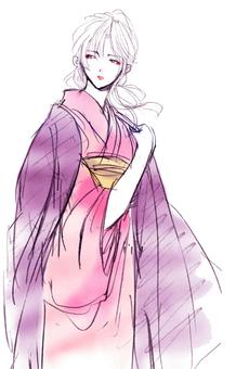 Kimono beautiful