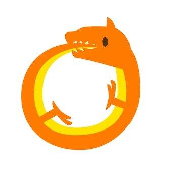 Round dragon