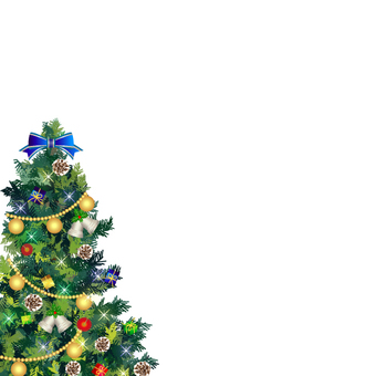クリスマスツリー フレーム