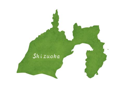 Shizuoka prefecture illustration