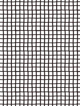Hand-drawn check pattern fine