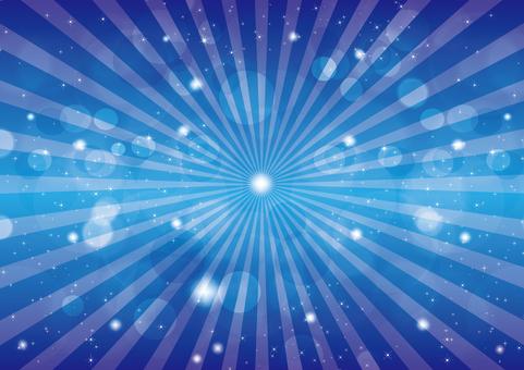 Blue Glitter 4