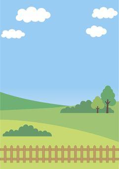 Illustration of nature (landscape)