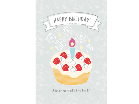 Birthday card _ cake