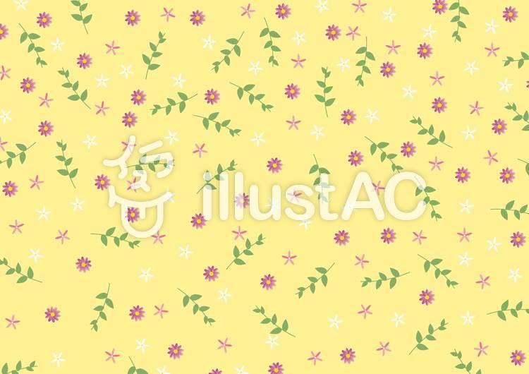 花の背景-2のイラスト