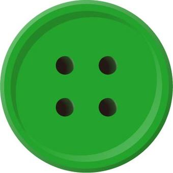 Four hole button (green)