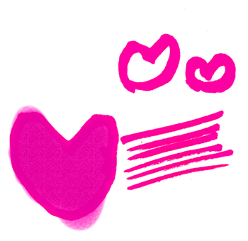 Pink fast heart